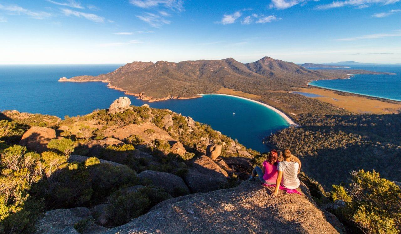 Cestopis Tasmánie - Wineglass Bay a NP Freycinet