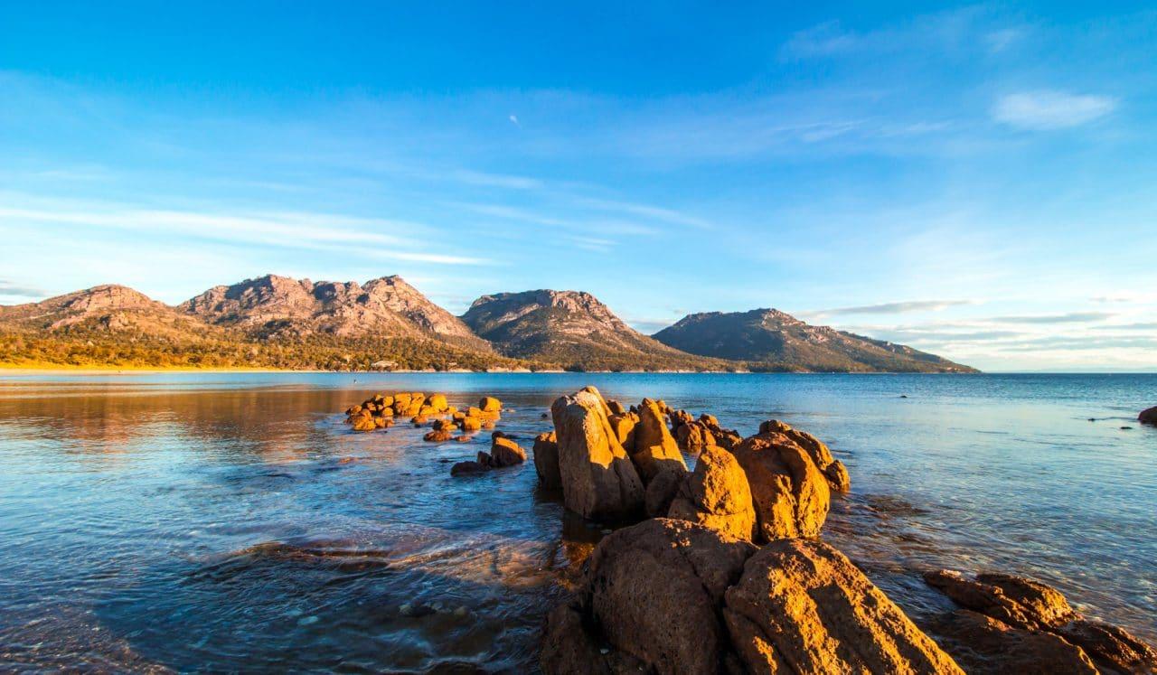 Cestopis Tasmánie - Podruhé na Wineglass Bay