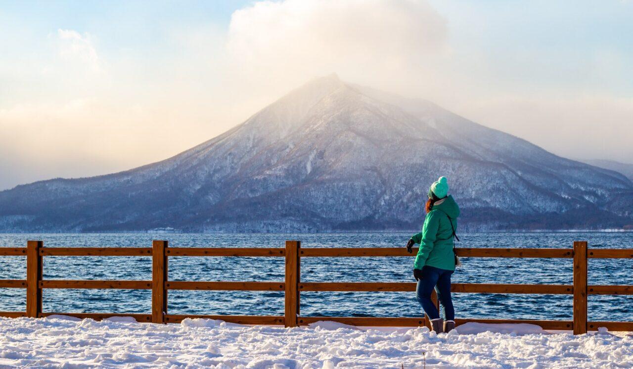 Zimní festival Lake Shikotsu - Cestopis Japonsko 2019