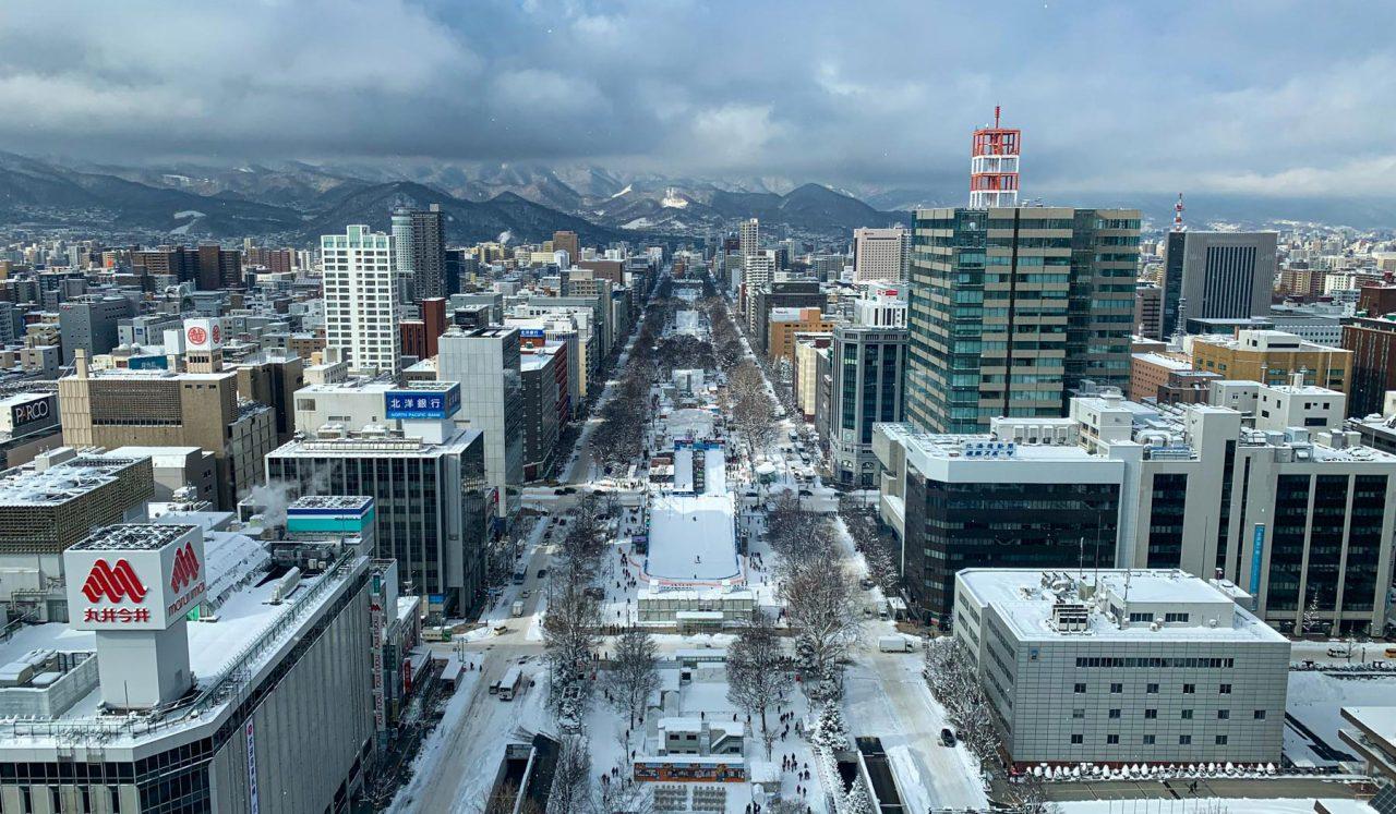 Cestopis Japonsko - Ledový festival v Sapporu
